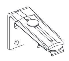 Verstelbare wandsteunen (60 – 108 mm) met clip, per set