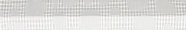 Plisségordijn wit met een werkje 720010