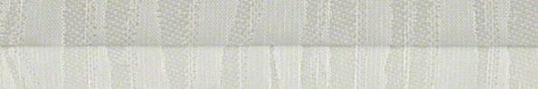 Plisségordijn wit met een werkje 720011