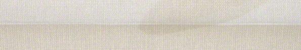 Plisségordijn gebroken wit met print 720013