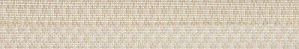 Plisségordijn licht beige goud met een werkje 720021