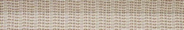 Plisségordijn licht beige geweven met gouden draad 720024