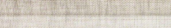 Plisségordijn crème geweven 720025