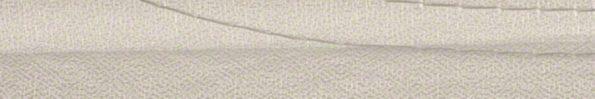 Plisségordijn wit met borduursel 720034