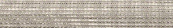 Plisségordijn wit met zilverdraad 720038