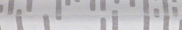 Plisségordijn wit met verticale strepen 720173