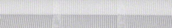 Plisségordijn wit met werkje 730001