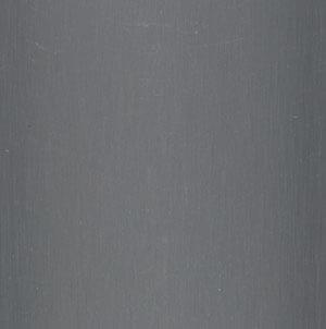 Aluminium lamelgordijnen - zilver met lichte structuur zijdeglans - 102301 - PG1 - verkrijgbaar in 52 - 70 - 89 mm