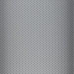 Aluminium lamelgordijnen - zilver glans met gaatjes - 102294 - PG2 - verkrijgbaar in 52 - 70 - 89 mm