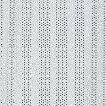 Aluminium lamelgordijnen - gebroken wit met gaatjes zijdeglans - 102373 - PG2 - verkrijgbaar in 52 - 70 - 89 mm