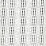 Aluminium lamelgordijnen - gebroken wit glans met gaatjes - 102804 - PG2 - verkrijgbaar in 70 - 89 mm