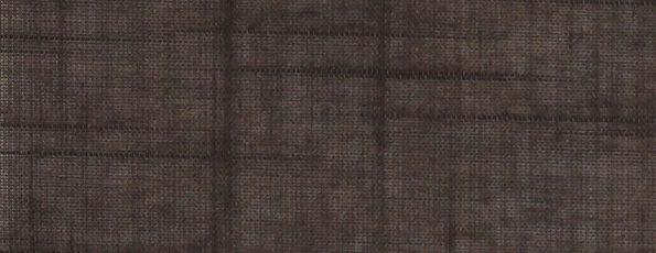 Rolgordijn Deluxe - Sophisticated Brown - 72.1494 - donkerbruin transparant met weving - PG 3 - Max breedte 4000 mm - Max hoogte: 4000 mm - 100% PES Trevira CS - brandvertragend - 145 g/m