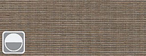 Rolgordijn Deluxe - Intense bronze 72.1632 -taupe transparant met weving - PG 3 - Max breedte: 2390 mm - Max hoogte: 4000 mm - 100% PES - 186 g/m