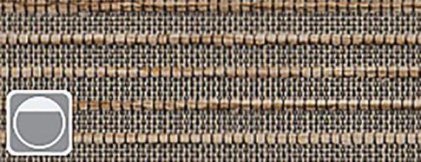 Rolgordijn Deluxe - Intense bronze 72.1636 -taupe verduisterend geweven - PG 5 - Max breedte: 2340 mm - Max hoogte: 3800 mm - 100% PES - 305 g/m