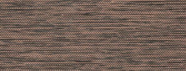 Rolgordijn Deluxe - Sophisticated Brown - 72.1650 - bruin zwart lichtdoorlatend met weving - PG 3 - Max breedte 2740 mm - Max hoogte: 4000 mm - 100% PES - 250 g/m