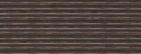 Rolgordijn Deluxe - Autumn Red - 72.1676 - bruin geweven transparant - PG 3 - Max breedte: 2740 mm - Max hoogte: 4000 mm - 100% PES - 160 g/m