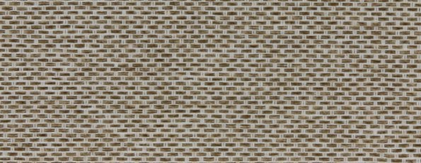 Rolgordijn Deluxe - Natural Cotton 72.1685 - bruin transparant met weving - PG 3 - Max breedte: 2940 mm - Max hoogte: 4000 mm - 100% PES Trevira cs - brandvertragend - 180 g/m