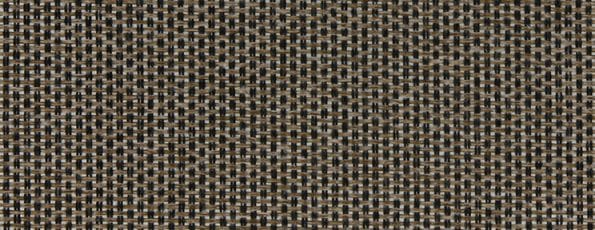 Rolgordijn Deluxe - Sophisticated Brown - 72.1688 - bruin transparant met weving - PG 3 - Max breedte 2940 mm - Max hoogte: 4000 mm - 100% PES Trevira CS - brandvertragend - 180 g/m