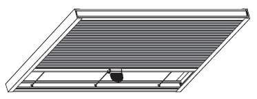 plissé voor veranda's en terrasoverkappingen