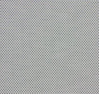 Rolgordijn screendoek gebroken wit/ lichtgrijs 72.2008 - transparantie: 5% - reflectie: 43% - Absorptie: 52% - openheidsfactor: 3%
