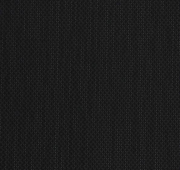 Rolgordijn screendoek zwart 72.2010 - transparantie: 3% - reflectie: 3% - Absorptie: 94% - openheidsfactor: 3%
